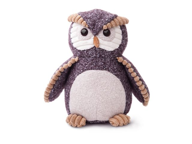 Meet Oscar Owl from our wonderful new Fabbies collection, a super-soft plush toy perfect for all ages.  A mixture of textured fabrics and natural colour tones make this a must have item.  Fabbies is also available in other styles including Tabby Cat, Pug Dog, Bassett Ho…