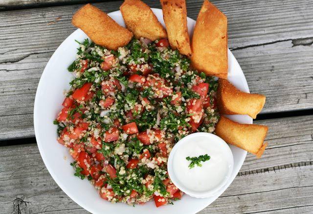 Cheap quinoa tabouli salad #recipe from Cheap Recipe Blog