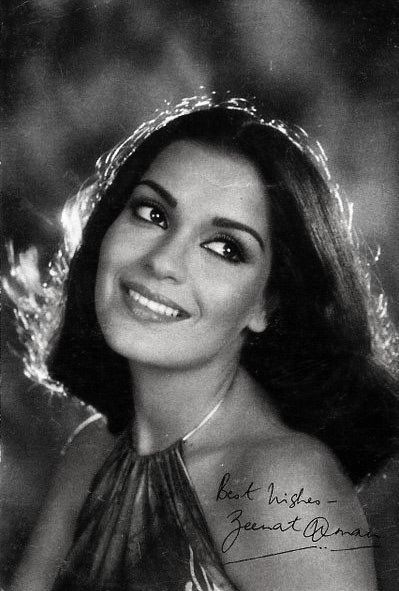 #Bollywood in retro - the fabulous #ZeenatAman
