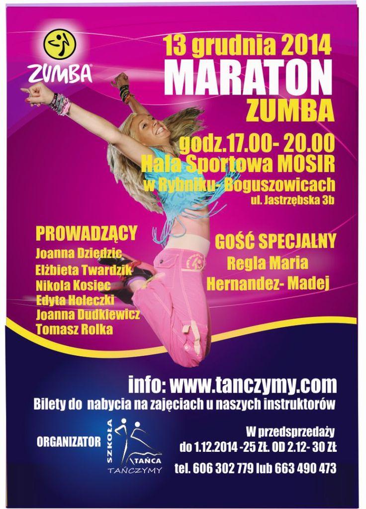 II Maraton Zumba fitness w Rybniku-Boguszowicach (Rybnik, 13.12.2014)