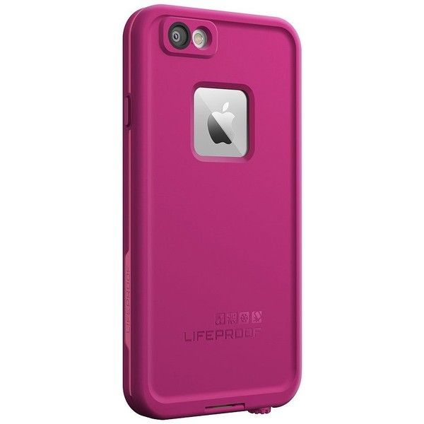 LifeProof FRE Waterproof iPhone 6 Case, Pink ($80) ❤ liked on Polyvore featuring accessories, tech accessories and pink