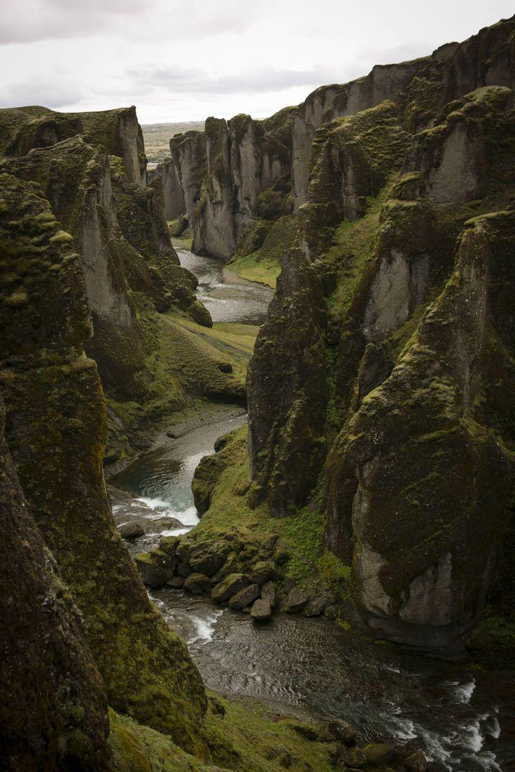 Fjadrargljufur, Iceland by Maplewhat via Canyons, Stars ...