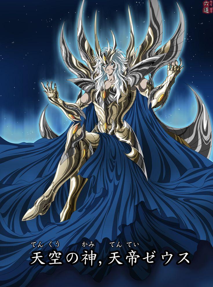 Zeus Saint Seiya by LosSeisCaminos.deviantart.com on @deviantART