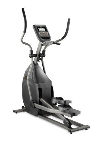 The Horizon EX-57 elliptical gives you club-quality performance - from the smooth stride motion to the easy programmability - and recreates the feeling of running or walking without leaving home. 8 motorized resistance levels let you adjust the intensity of your workout, and the clear LCD screen displays heart rate and other key workout feedback.