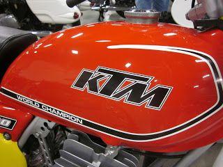OldMotoDude: 1977 KTM 400 M-5 on display at the 2013 Idaho Vintage Motorcycle Show -- Caldwell, Id