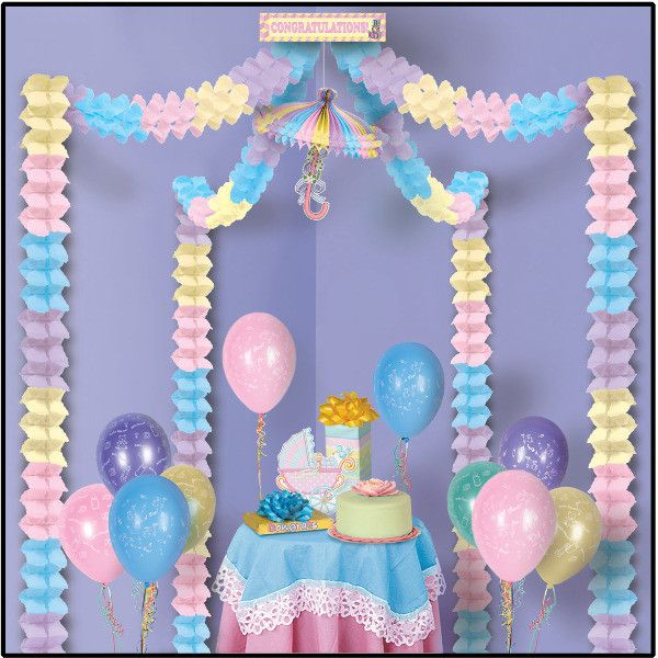 Baby Shower Party Canopy - 6 Pack Case Pack 6