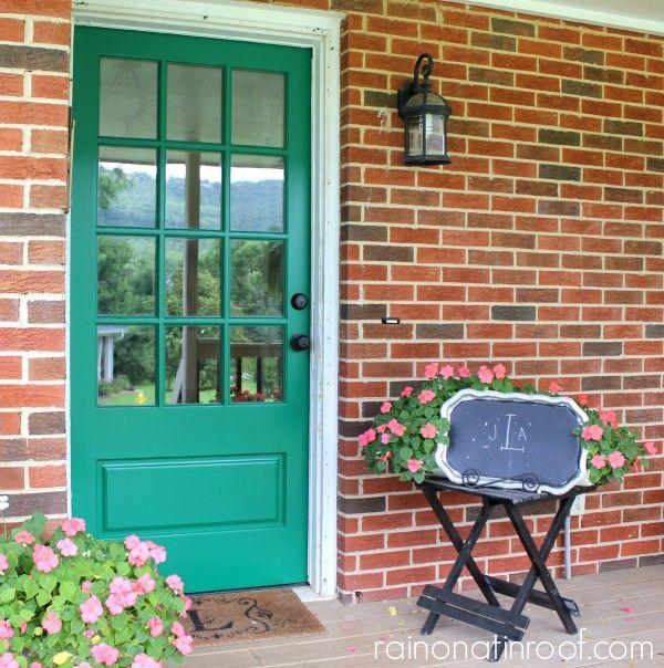 Green Front Doors: 17 Best Ideas About Green Front Doors On Pinterest