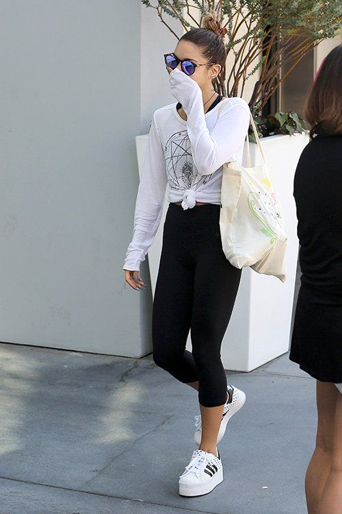 Vanessa Hudgens Style West Hollywood August 26 2014