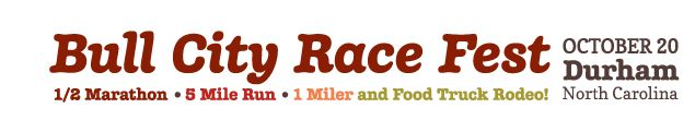 Bull City Race Fest October 19, 2014