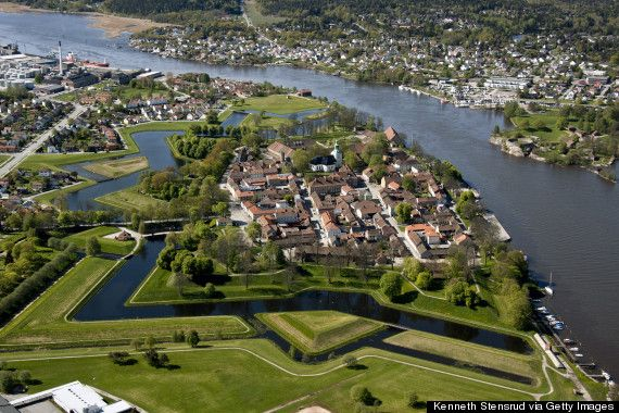 Fredrikstad ist das reinste Märchenland.