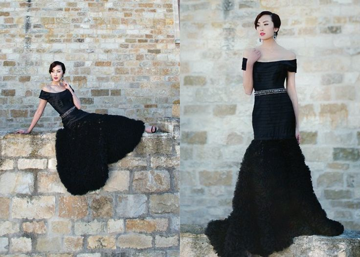 Chriselle Lim for Tadashi Shoji's 30th Anniversary Collection + GIVEAWAY