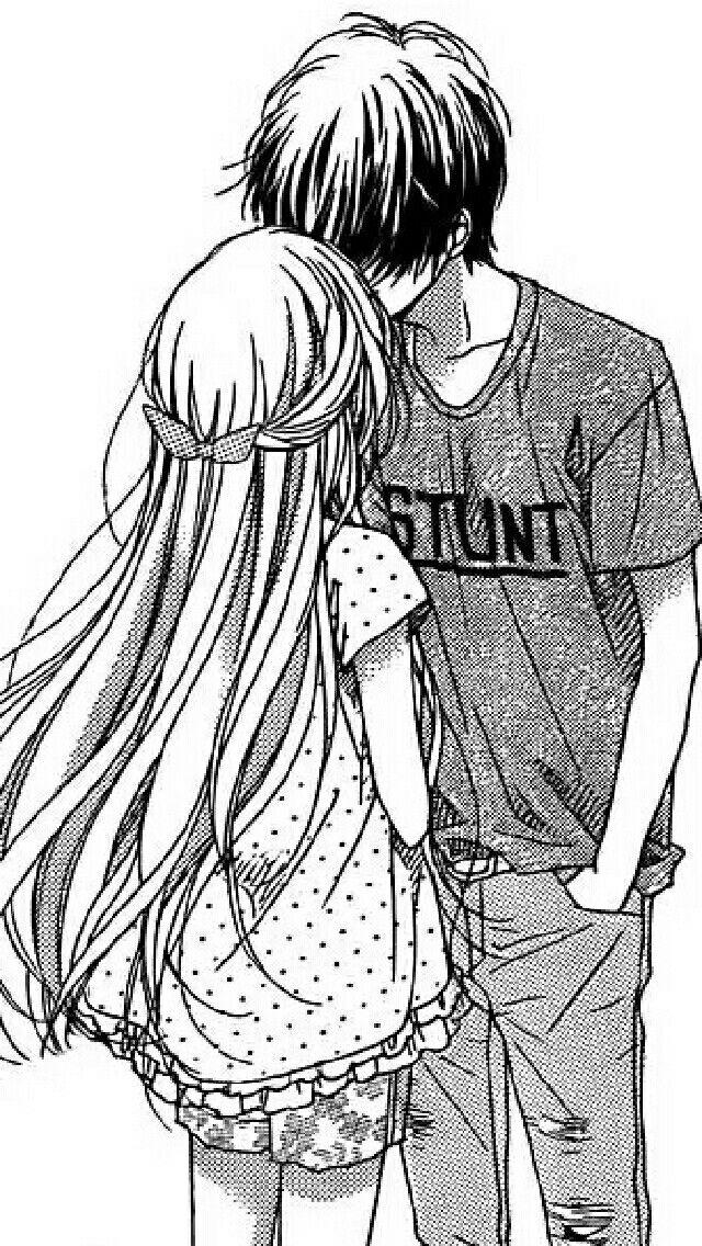 muestra el amor entre  una  parejas  de adolescentes   <3