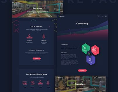 "Check out new work on my @Behance portfolio: ""Nomad Labs""…"