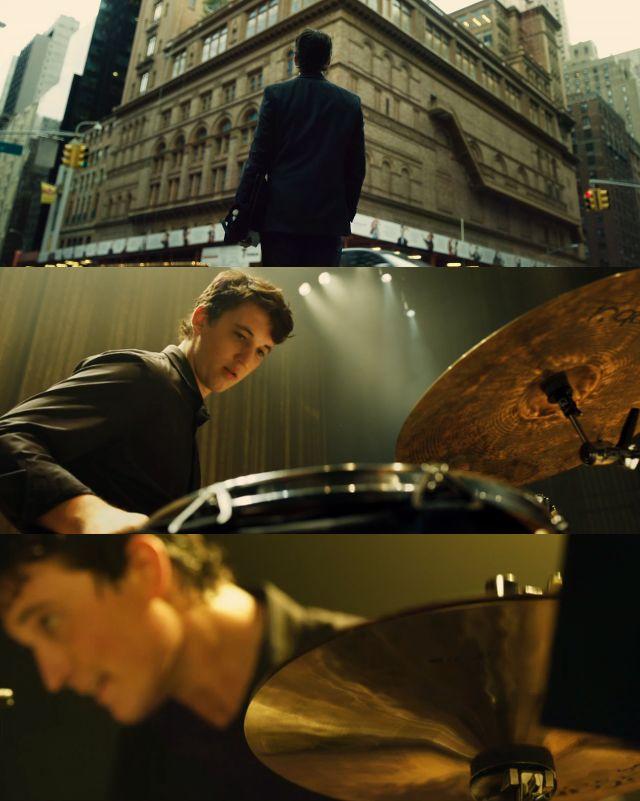 Whiplash Director - Damien Chazelle Cinematographer - Sharone Meir