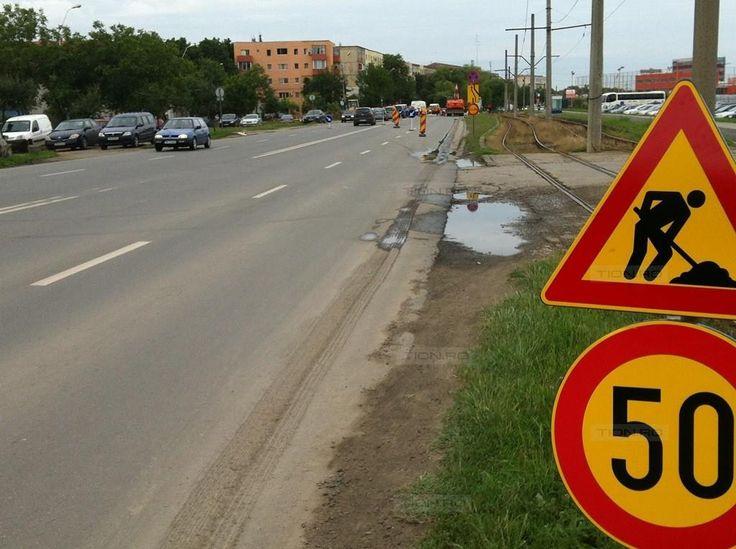 Restrictii de circulatie si pe Calea Buziasului din Timisoara. Primaria a uitat sa le anunte…