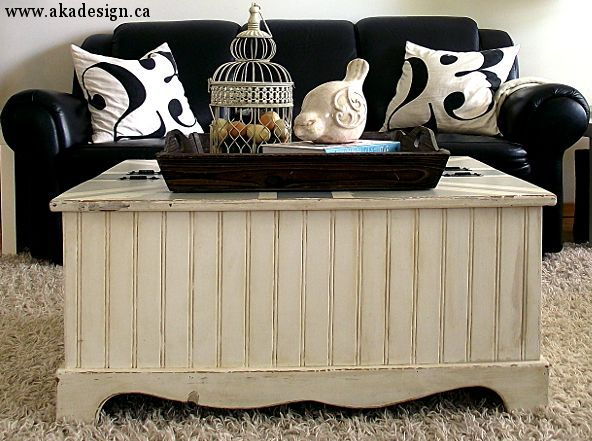 Coffee Table Makeover A Diy Project