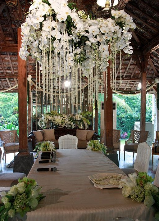 Decor at Javanese ambiance #IndonesianWedding #Javanese #Sundanese