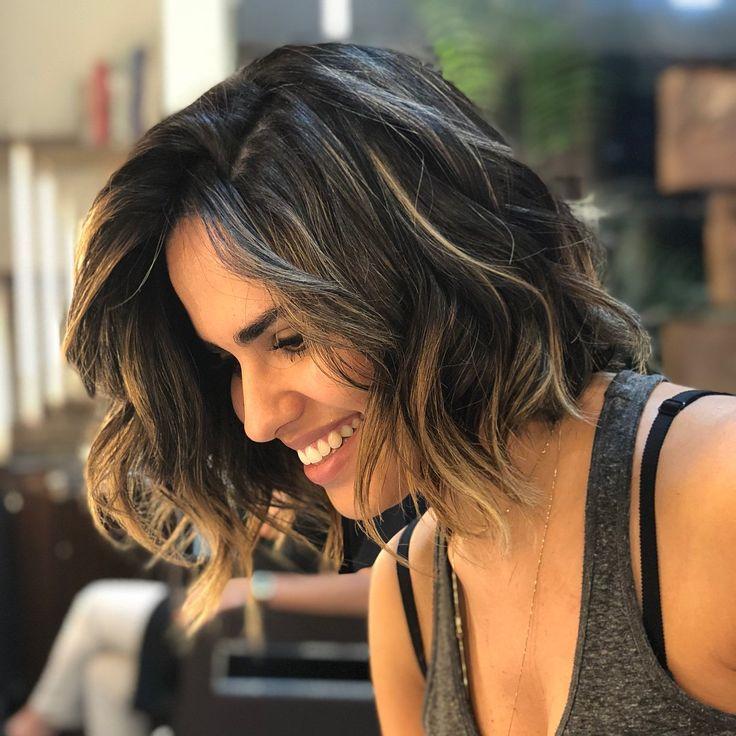 40 fotos de cabelo médio repicado para inspirar sua mudança de visual em 2020 | Cabelo repicado medio, Cabelo medio, Cabelo