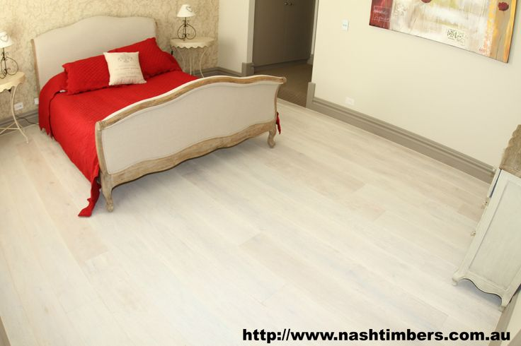 220mm x 21mm Arctic White Engineered French Oak Floor