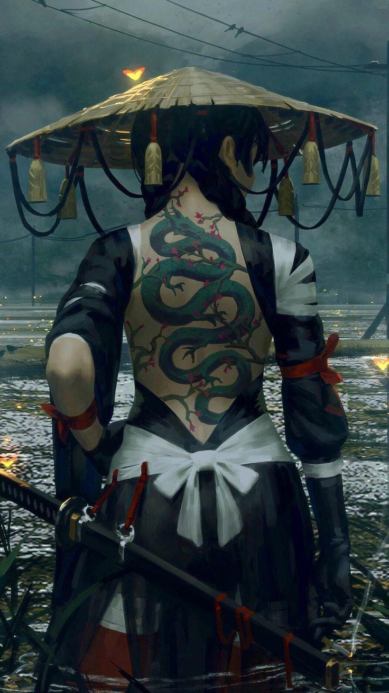 A nice back – #nice #samurai