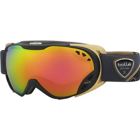 Bolle Duchess Goggle - Black / Gold / Rose Gold: Bolle `s Duchess is their newest snow goggle for women… #OutdoorGear #Camping #Hiking