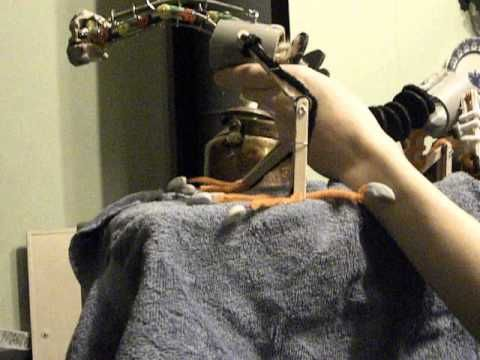 Shoulder Dragon Puppet mechanism - YouTube