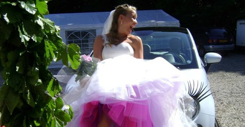 Wedding dress made by me :o)