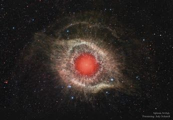 Naked Science – Google+ Туманность Улитка в инфракрасном диапазоне