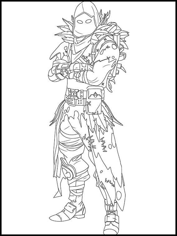 Fortnite 26 Printable Coloring Pages For Kids Disegni Da