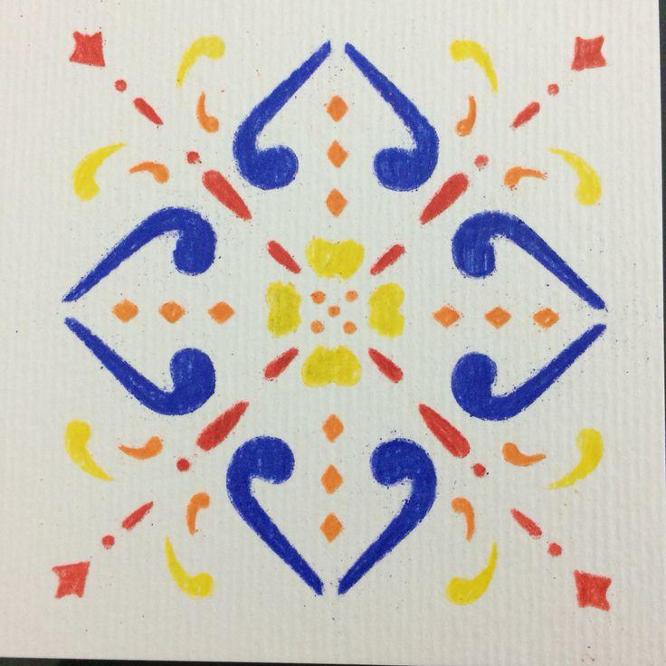 Azulejo de papel