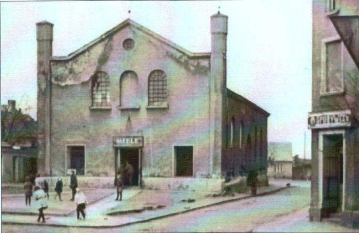 Nieistniejąca już Synagoga Żydowska
