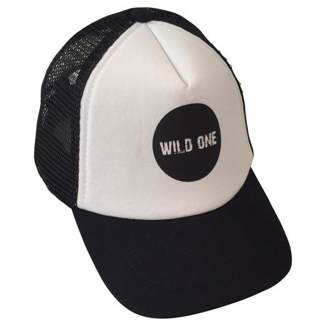 Baby and Toddler Trucker Hat - Wild One by Billie the Kid Apparel