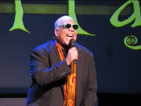 Ken Page performs Oogie Boogie song at El Capitan Theatre, 10 15 13