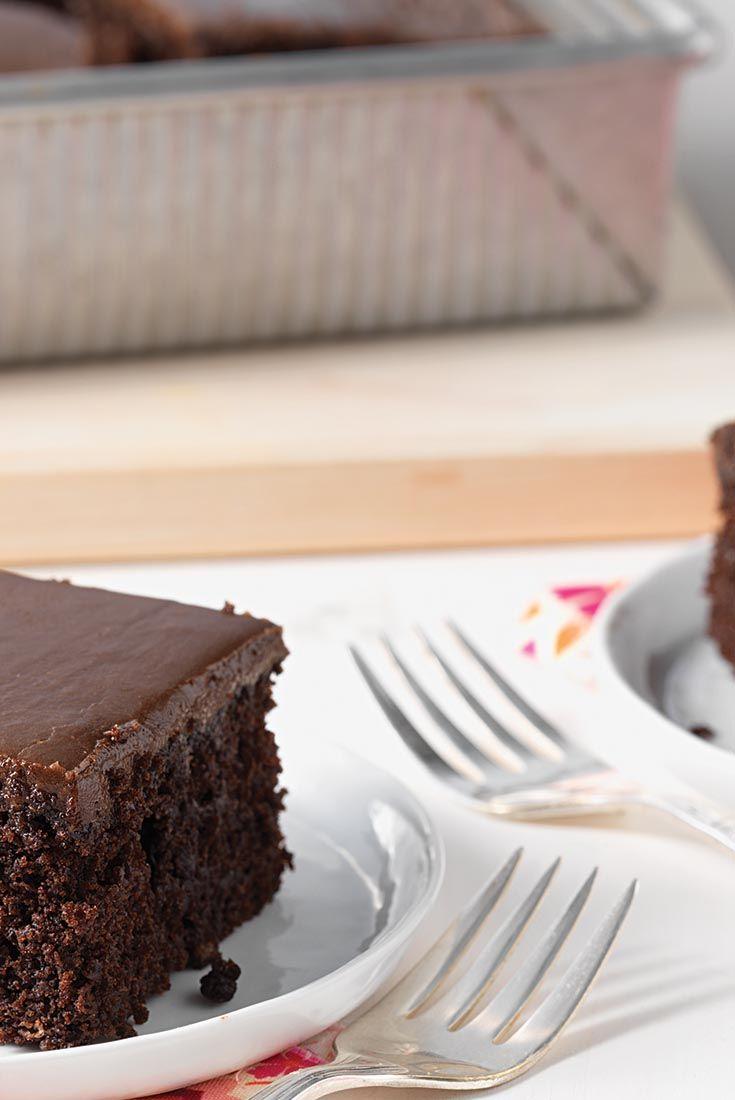 King Arthur Flour's Favorite Fudge Cake Recipe
