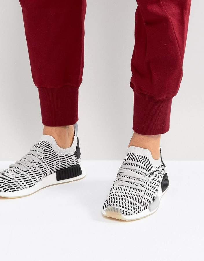 58cf4758104c2 The Best Men s Shoes And Footwear   adidas Originals NMD R1 STLT Sneakers  In Gray CQ2387