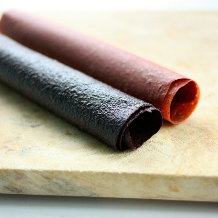 Easy, Homemade, DIY Fruit Leathers (How To + Recipe)