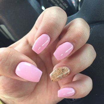 Belle Nails and Spa - Concord, CA, United States. Coffin nails by Sharon
