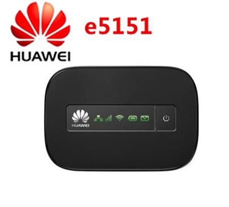 Original Unlocked Huawei e5151 21.6Mbps 3g wifi hotspot mobile wifi router with original retail box  — 5243.67 руб. —