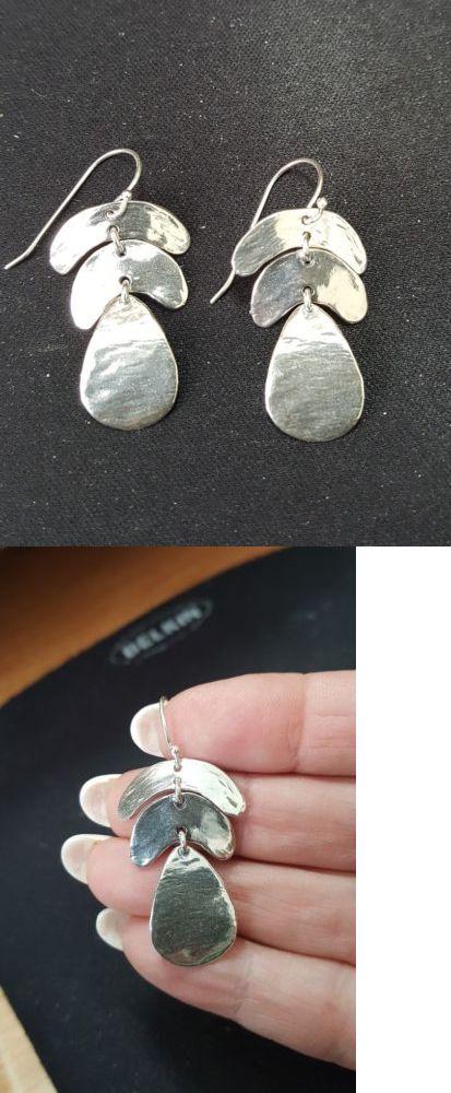 797b02e33 Fine Earrings 10985: Noa Zuman Israel 925 Fine Sterling Silver Earrings-  Nwt -> BUY IT NOW ONLY: $22 on #eBay #earrings #zuman #israel #sterling # silver