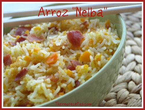 """Receta para hacer Arroz """"Nelba"""". Descúbrelo. #arroz #recetas #thermomix"""