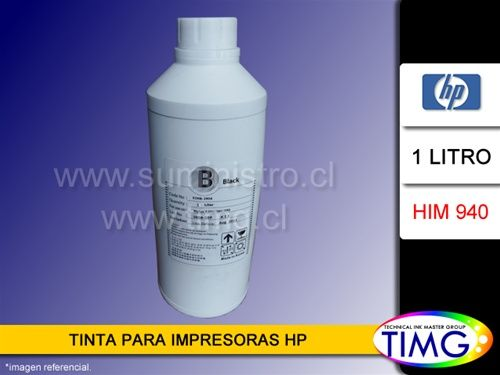 Nuestra tinta modelo HIM940 es utilizada en los cartuchos HP 940 y 971, modelos de impresoras de alta velocidad con 4 tintas pigmentadas, repusieron stock y estan disponibles para entrega inmediata. http://www.suministro.cl/product_p/5502010021.htm