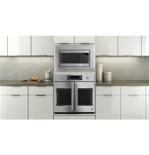 Ge Cafe Series 30 Built In French Door Single Convection Wall