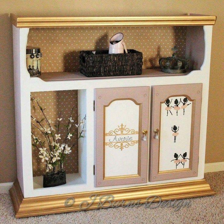 diy dress up closet, closet, painted furniture, repurposing upcycling