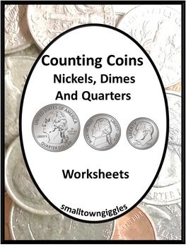 coin counting money skills for special education quarters dimes nickels coins student and count. Black Bedroom Furniture Sets. Home Design Ideas