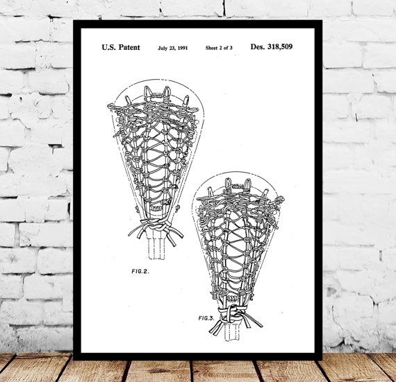 Lacrosse Stick Print, Lacrosse Stick Poster, Lacrosse Stick Patent, Lacrosse Stick Art, Lacrosse Stick Decor, Lacrosse Stick Wall Art by STANLEYprintHOUSE  1.00 USD  We use only top quality archival inks and heavyweight matte fine art papers and high end printers to produce a stunning quality print that's made to last.  Any of these posters will make a great affordable gift, or tie any room together.  Please choose between different sizes and col ..  https://www.etsy.com/ca/listing..