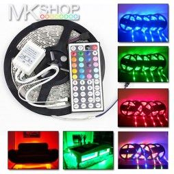 This flexible 3528 strip light is perfect for any kind of decorating TV, living room, bathroom, hallway, staircase or anything else you can imagine. LED strip lights in our shop comes with 3M adhesive backing which means they can be stuck pretty much anywhere giving you endless creative possibilities. In a few steps you can customize product.