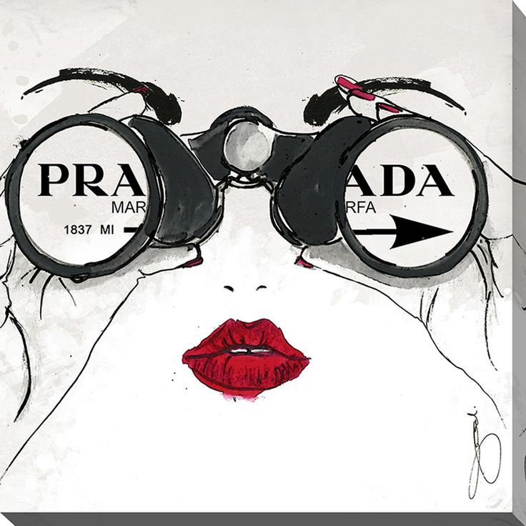 I See Prada by Working Girls Design Graphic Art on…