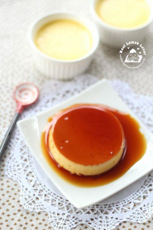 Nasi Lemak Lover: Crème Caramel 原味布丁