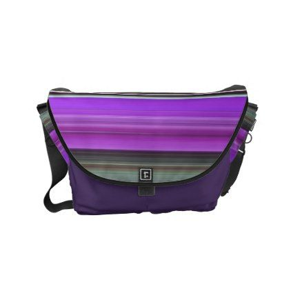 Abstract #1: Purple and grey Small Messenger Bag - elegant gifts gift ideas custom presents