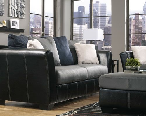 rent furniture ashley masoli cobblestone sofa